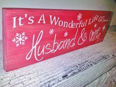 Christmas Wedding, 1st Christmas as Husband & Wife, Mr & Mrs!
