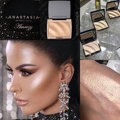 MUST HAVE! #Fire #glow ✨🔥✨ QUEEN of GLOW! 👑✨ @amrezy   Collaboration:   @anastasiabeverlyhills  X @amrezy .  Will be available ➡️ #valentinesday FEBRUARY 14TH   www.anastasiabeverlyhills.com    Who is excited for this one???? 🙋🏻♀️✨ Pics:  @amrezy Snapchat & Instastory .  .  #maryhadalittleglam #amrezy #anastasiabeverlyhills #fentybeauty #hudabeauty #fentybeautybyrihanna #alyakattan #monakattan #luxurymakeup0 #Anastasiabrows #shophudabeauty #hudabeautydesertdusk #hudabeautyliquidmatte…