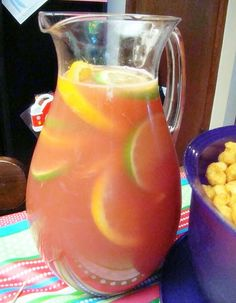 Krista's Kitchen: An Easy After School Party and Sangria Punch.  You can add rum.