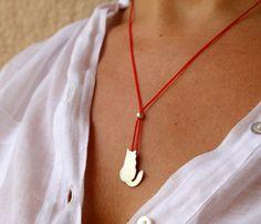 Tiny Cat Pendant Necklace