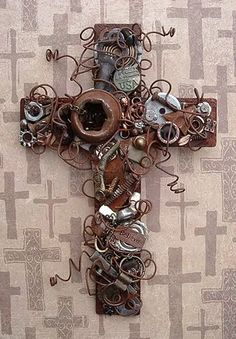 Metal Cross... steampunk?