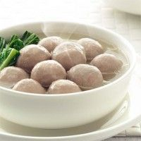 beef meat ball ( bakso sapi ) - Indonesian style