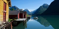Norway's longest and and deepest fjord.