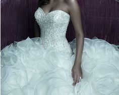 Allure Couture Wedding Dresses Style C220