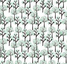 Retro Trees http://www.spoonflower.com/fabric/89885