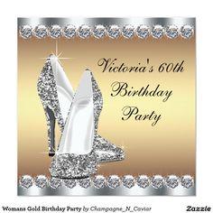 Fiesta de cumpleaños del oro de la mujer