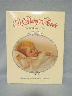 Vintage Bessie Pease Gutmann A Baby's Memory Record Book Picture Photo Album-New - http://baby.goshoppins.com/announcements-keepsakes/vintage-bessie-pease-gutmann-a-babys-memory-record-book-picture-photo-album-new/