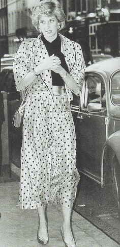 July 1986 Diana attends a pre wedding function in the lead up to Sarah and Andrews big day
