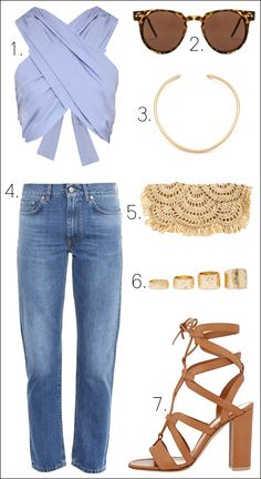 Gear Up For Warmer Weather With A Crop Top And Sandals