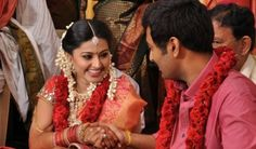 South Indian Actress Sneha – Prasanna Marriage Reception Pics