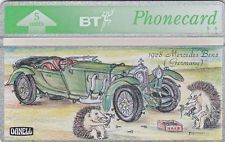 BT Phonecard, BTG137 Hedgehog's Revenge (3), unused