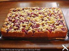 Kirsch - Streusel - Kuchen (bereits gemacht)
