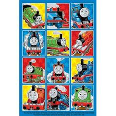 Celebrate with the Thomas Stickers