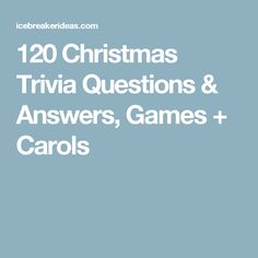 Make your festivities more fun with a game of Christmas Trivia questions and answers or use our trivia lists for a Christmas Trivia Quiz. Funny Christmas Trivia, Christmas Trivia Questions, Christmas Quiz, Trivia Questions And Answers, Christmas Games For Family, Holiday Games, Christmas Humor, Holiday Fun, Christmas Specials