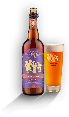 Brewery Ommegang: Rare Vos Amber Ale (6.5% ABV) Described as a Belgian-Style Café Ale, this is one delicious escape from your everyday amber.  This was my first from the NY Brewery and will definitely not be my last.  This one is highly recommended for all Belgian Lovers. Prost!