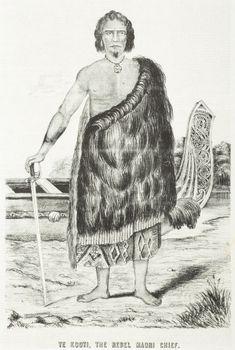 Very rare portrait of Te Kooti, Rikirangi Te Turuki Te Kooti Rikirangi Te Turuki, a trader who had fought on the government side at earlier actions, was accused of supplying gunpowder to Hau Hau, t Filipino Tribal Tattoos, Hawaiian Tribal Tattoos, Once Were Warriors, Polynesian People, Maori People, Cross Tattoo For Men, Maori Designs, Nordic Tattoo, Maori Art