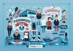Ilustración para L´argonaut. www.raulgomez.es • Raquel Jove