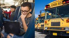 Google pone Wi-Fi en los autobuses escolares rurales los llama Salas de Estudio de Rolling