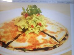 Sweet Potato & BlackBean Quesadilla  I Quit Sugar - 8 week program  Awesome !!!!