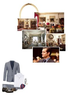"""""""(A) Hosts a reception at Clarence House for veterans, widows, and members of the Battle of Britain Fighter Association"""" by immortal-longings ❤ liked on Polyvore featuring Jil Sander, Givenchy, Cartier, Blue Nile, men's fashion and menswear"""