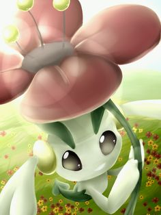 Floette by SkittyStrawberries.deviantart.com on @deviantART