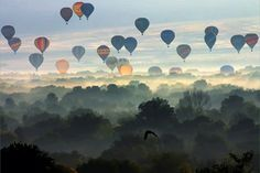 Amazing photo of the Albequerque hot air balloon festival. Links to photographer's website to buy a print...I think I might have to!
