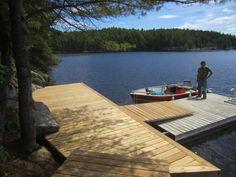 Boat Shed, Lake Dock, Cottage Plan, The Rock, House Design, Cabin, Outdoor Decor, Image, Sheds