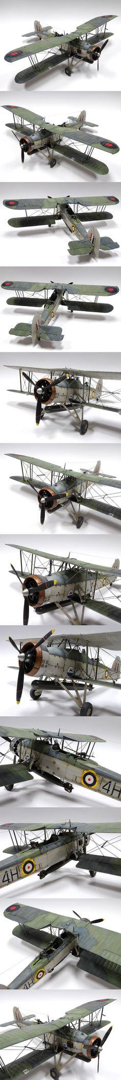 Fairley Swordfish 1/32 Scale Model