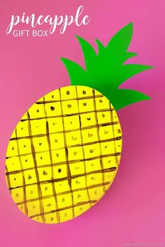 DIY Pineapple Gift B