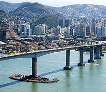 Terceira Ponte, em Vitória