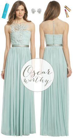 oscar-worthy fashion via {long distance loving} | http://www.longdistanceloving.net/2013/02/oscar-fashion-mint-green.html