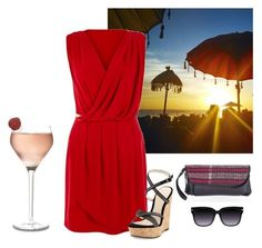 """""""Sunset by the sea"""" by doroteagale ❤ liked on Polyvore"""