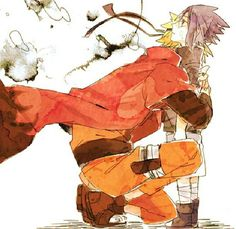 I haven't even watched Naruto, but this is a sweet picture. ;u;
