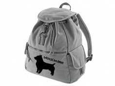 Canvas Rucksack Hunderassen Canvas Rucksack Hunderasse: Australian Terrier Bearded Collie, Airedale Terrier, Akita, Backpacks, Vintage, Canvas, Bags, Australian Terrier, Belgian Shepherd
