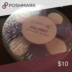 Petal Perfect Makeup 💄 Sponges 🌺MAKE ME AN Offer 2 packs of these make up sponges. 16 sponges in all. Come NEW IN a wrapped plastic container Makeup Brushes & Tools