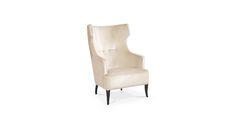 IGUAZU Wingback Chair Mid Century Modern Furniture by BRABBU is a living room furniture piece for a modern home decor. http://roomdecorideas.eu/
