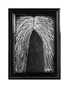 """EINGERAHMTER KUNSTDRUCK """"NIGHT DEMON"""" MARACHOWSKA ART MARACHOWSKA ART http://www.marachowska.com/"""