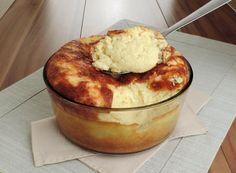 Receita de suflê de batata com molho branco