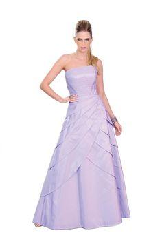 Vestido longo tomara que caia em tafetá forrado. Estrutura com corselete e barbatanas. Cod. 101214   #zumzum #zumzumfesta #vestido #festa #vestidodefesta #dress #partydress