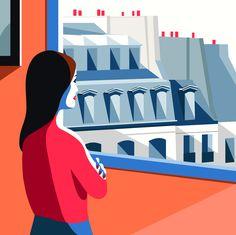 Mathilde Crétier for Elle Magazine