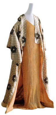 Gown is one of fortuny s delphos dresses image and text taken