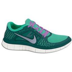 00855bc06068a7 Nike Free Run + 3 - Women s - Electric Yellow Midnight Fog Gamma Grey