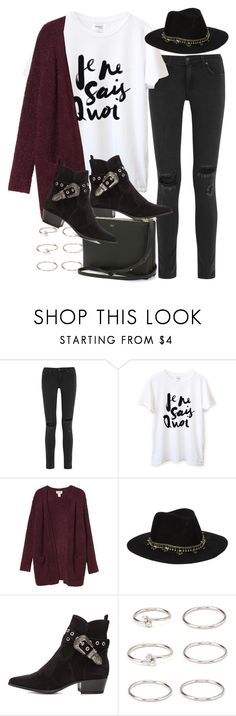 Sin título #2997 by hellomissapple on Polyvore featuring moda, Monki, rag & bone, Yves Saint Laurent, Forever 21 and ASOS