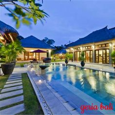 fantastic location from which you can easily make the most of your visit to #Bali. It's close to, what's known locally as, '#EatStreet' where you'll find a wide range of cafes, #warungs and #restaurants including famous names such as #KuDeTa, #GadoGado, #LaLucciola, La Sal and Also, just a few minutes walk away, is Jalan Dhyana Pura – a street rapidly gaining a reputation for its vibrant live #music scene, quality restaurants and colourful shops  www.geriabalivacation.com/antan-villa…