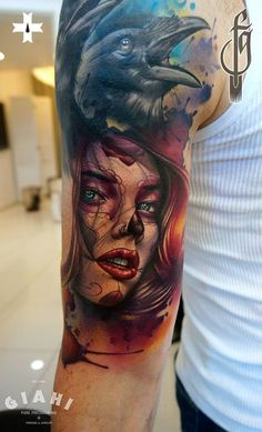 The power of nature. Done at Giahi Tattoo & Piercing, Löwenstrasse 22 By resident artist Fede Gas