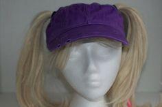 Colorado Rockies Purple Pigtail Hat