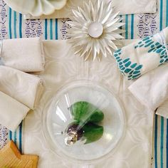Summer whites. Napkins and placemats are available online. #ecru #ecruonline #tablelinens #tablewear #takemetothetropics #ss2014Follow