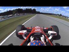 #INDYCAR In-Car Theater: Scott Dixon's Mid-Ohio Sports Car Course Track ...