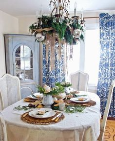 Seashells work surprisingly well with evergreens! Your hand collected finds will give your beach Christmas table a personal touch, and might even have you walk down memory lane for a bit