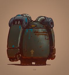 Unannounced project I did year ago for friends team. Perhaps in the future it will continue :)  My role is to  create some concepts of amuse and funny robots, with wild & uncared-for appearance.   They have strange appearence,  because live for a long time after humanity (trying to fix and create themself) Hope you enjoy :)